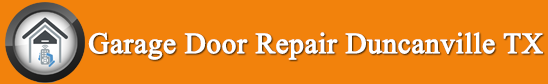 garage door repair Duncanville TX logo